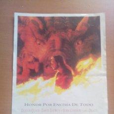 Cine: DRAGONHEART PANFLETO PUBLICITARIO. Lote 127120719