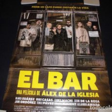 Cine: EL BAR. POSTER O CARTEL DE CINE. ORIGINAL.. Lote 127234495