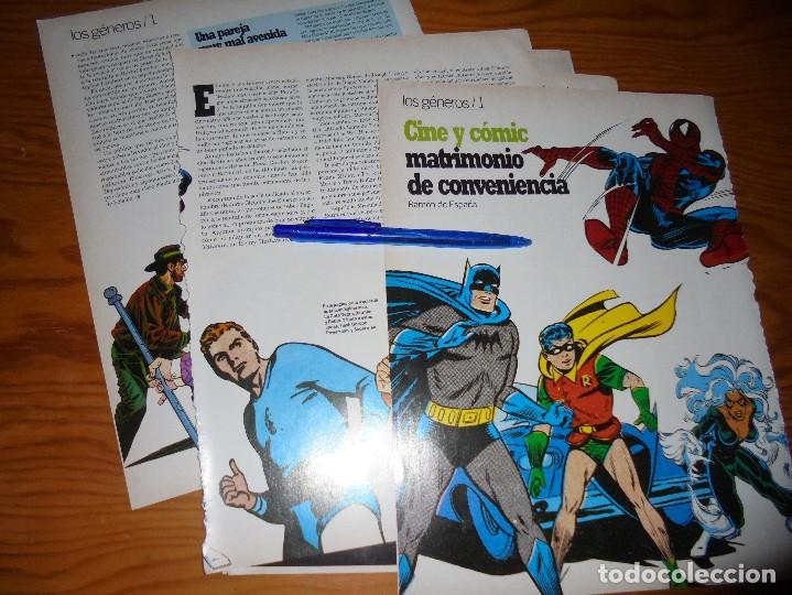 RECORTE PRENSA : CINE Y COMIC. CINEMANIA, OCTBRE 1995 (Cine - Revistas - Cinemanía)