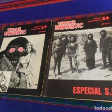 Cine: TERROR FANTASTIC NºS 16 ESPECIAL S.F. Y 19. AÑO 1976. 50 PTS. RARAS.. Lote 127679123
