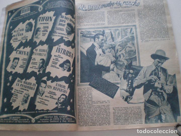 Cine: PRIMER PLANO - Nº 273 - 6 ENERO 1946 // REVISTA ESPAÑOLA DE CINEMATOGRAFIA DIANA BARRYMORE - Foto 4 - 127729279