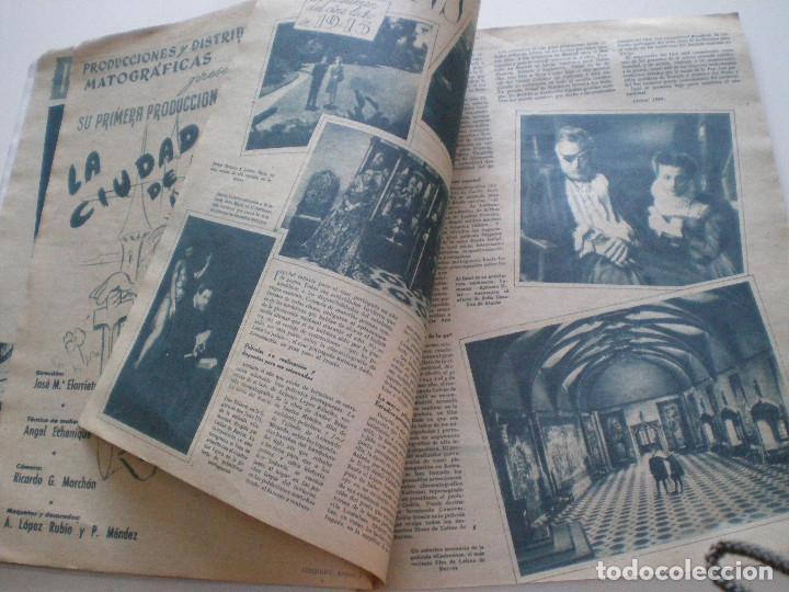 Cine: PRIMER PLANO - Nº 273 - 6 ENERO 1946 // REVISTA ESPAÑOLA DE CINEMATOGRAFIA DIANA BARRYMORE - Foto 6 - 127729279