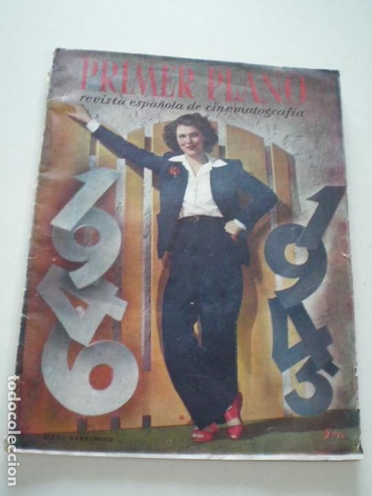 PRIMER PLANO - Nº 273 - 6 ENERO 1946 // REVISTA ESPAÑOLA DE CINEMATOGRAFIA DIANA BARRYMORE (Cine - Revistas - Primer plano)