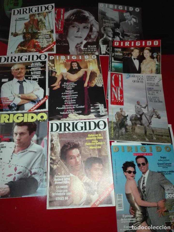 LOTE DE REVISTAS DE CINE (Cine - Revistas - Dirigido por)
