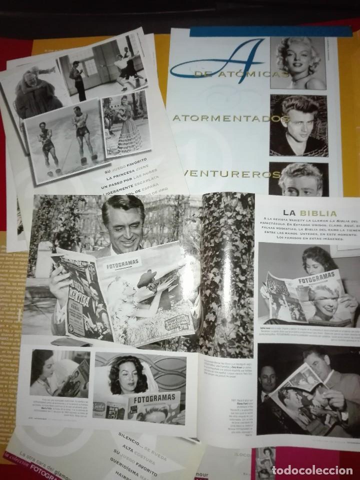 HOMENAJE AL STAR SYSTEM COMPLETA. DOS CARPETAS (Cine - Revistas - Fotogramas)