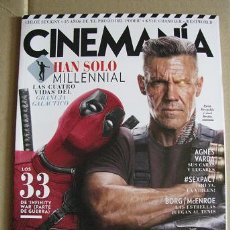 Cine: CINEMANIA Nº272 (PORTADA:DEADPOOL 2) LEER DESCRIPCION. Lote 127962863