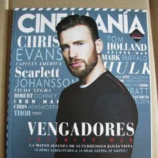 Cine: CINEMANIA Nº271 (PORTADA:CHRIS EVANS) LEER DESCRIPCION. Lote 127962943