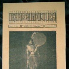 Cine: LA PELÍCULA REVISTA DE 1915. Lote 128081163