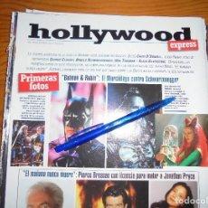 Cine: RECORTE PRENSA : BATMAN & ROBIN : EL MURCIELAGO CONTRA SCHWARZENEGGER. FOTOGRAMAS, ABRIL 1997. Lote 128092175