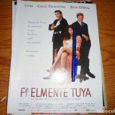 Cine: PUBLICIDAD PELICULA : FIELMENTE TUYA : CHER, RYAN O´NEAL. FOTOGRAMAS, ABRIL 1997. Lote 128092651