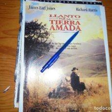 Cine: PUBLICIDAD PELICULA : LLANTO POR LA TIERRA AMADA : RICHARD HARRIS. FOTOGRAMAS, ABRIL 1997. Lote 128092675
