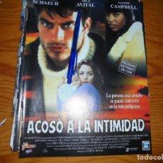 Cine: PUBLICIDAD PELICULA : ACOSO A LA INTIMIDAD : NAOMI CAMPBELL. FOTOGRAMAS, ABRIL 1997. Lote 128092711