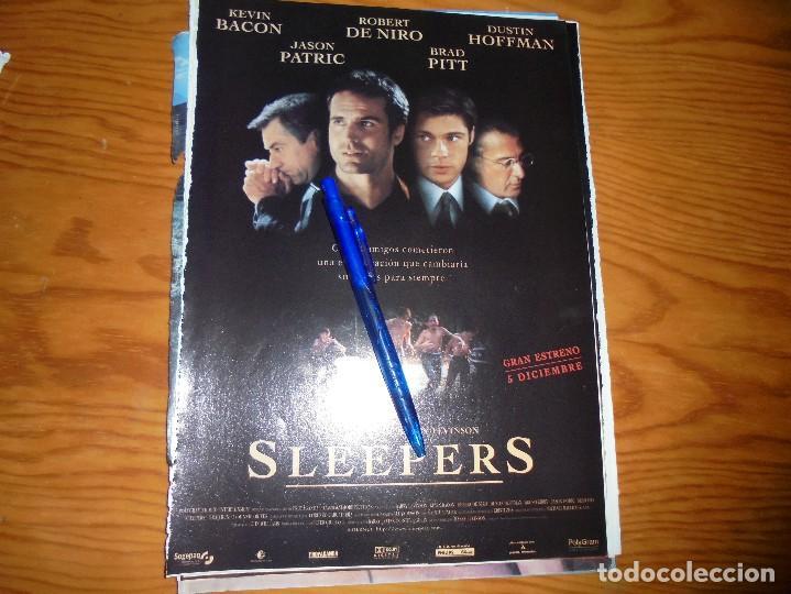 PUBLICIDAD PELICULA : SLEEPERS : ROBERT DE NIRO, BRAD PITT, KEVIN BACON . CINERAMA, DCMBRE 1996 (Cine - Revistas - Cinerama)