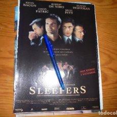 Cine: PUBLICIDAD PELICULA : SLEEPERS : ROBERT DE NIRO, BRAD PITT, KEVIN BACON . CINERAMA, DCMBRE 1996. Lote 128093483