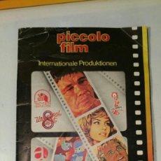 Cine: REVISTA DE CINE SUPER 8 - PICCOLO FILM EN ALEMAN AÑOS 70 . Lote 128140443