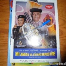 Cine: PUBLICIDAD PELICULA : MI AMIGO EL EXTRATERRESTRE. LOUIS DE FUNES. FOTOGRAMAS, MARZO 1986. Lote 128157323