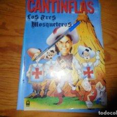 Cine: PUBLICIDAD PELICULA : LOS TRES MOSQUETEROS. CANTINFLAS. FOTOGRAMAS, MARZO 1986. Lote 128157379