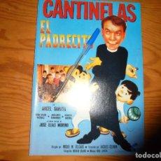 Cine: PUBLICIDAD PELICULA : EL PADRECITO. CANTINFLAS. FOTOGRAMAS, MARZO 1986. Lote 128157403