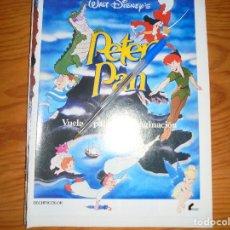 Cine: PUBLICIDAD PELICULA : PETER PAN. WALT DISNEY. FOTOGRAMAS, MARZO 1986. Lote 128157431