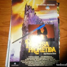 Cine: PUBLICIDAD PELICULA : LA PRINCESA PROMETIDA . FOTOGRAMAS, SPTMBRE 1988. Lote 128157671