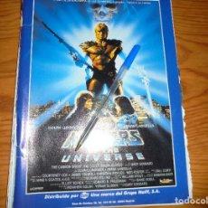 Cine: PUBLICIDAD PELICULA : MASTER OF THE UNIVERSE. DOLPH LUNDGREN . FOTOGRAMAS, SPTMBRE 1988. Lote 128157735