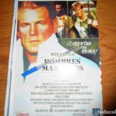 Cine: PUBLICIDAD PELICULA : HOMBRES MARCADOS. NICK NOLTE . FOTOGRAMAS, SPTMBRE 1988. Lote 128157887