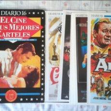 Cine: EL CINE EN SUS MEJORES CARTELES DIARIO 16 100 AÑOS DE CINE LOTE. Lote 128262915