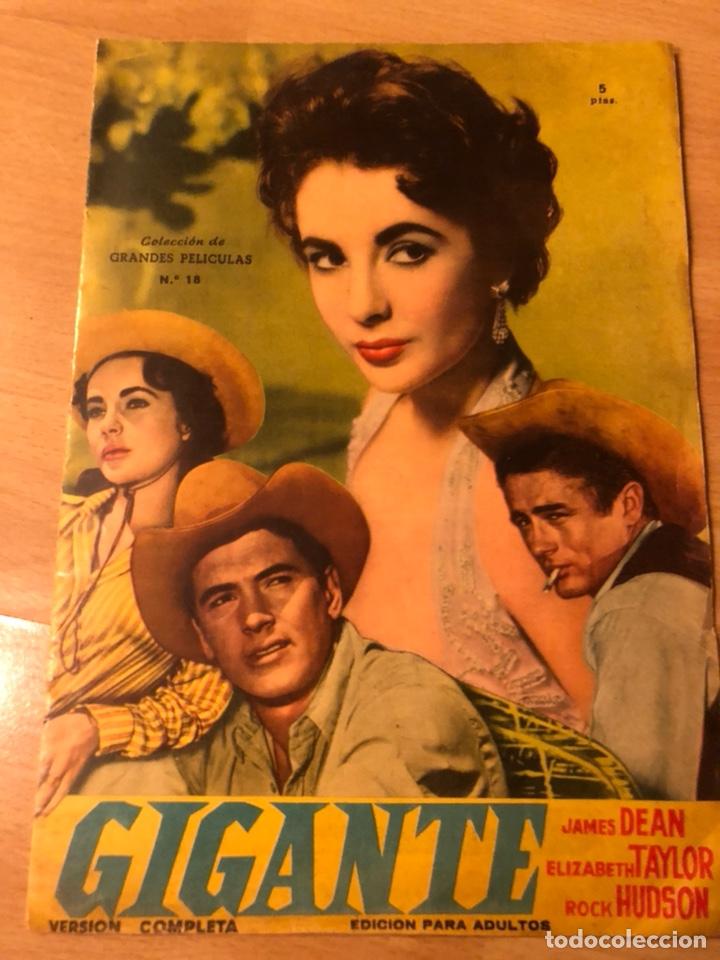 COLECCIÓN GRANDES PELÍCULAS 18.GIGANTE.ELIZABETH TAYLOR ROCK HUDSON JAMES DEAN (Cine - Revistas - Colección grandes películas)