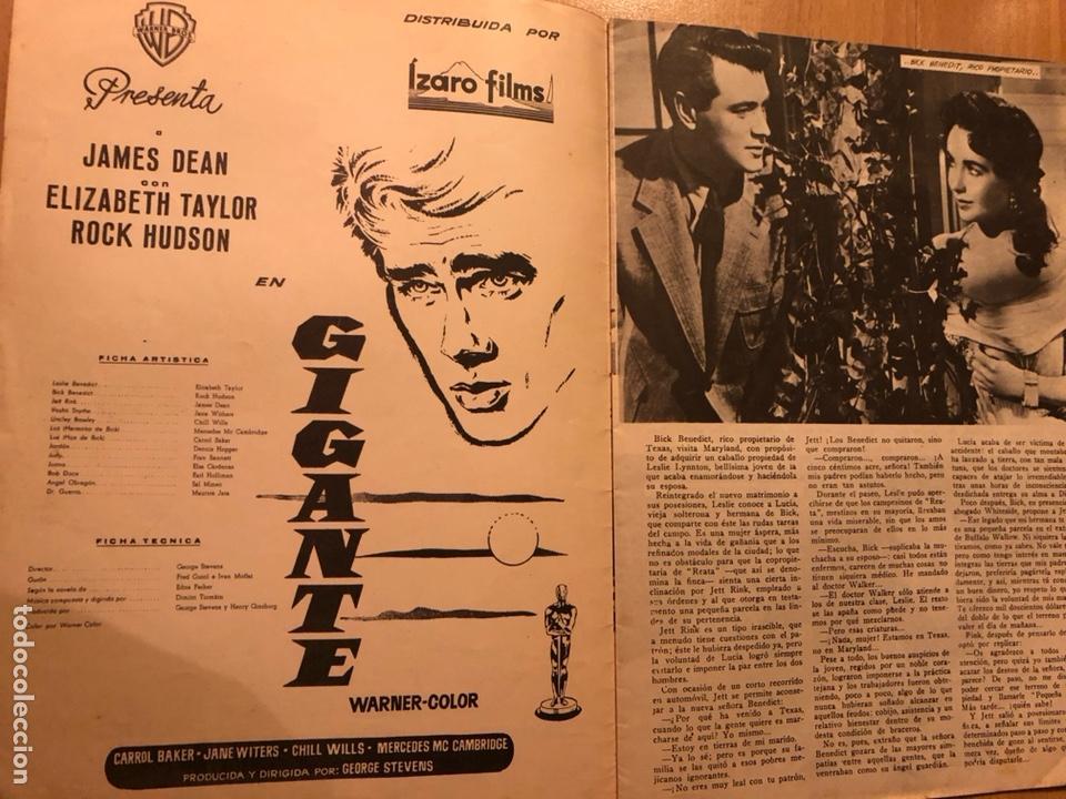 Cine: Colección grandes películas 18.gigante.elizabeth Taylor rock hudson james dean - Foto 2 - 277729378
