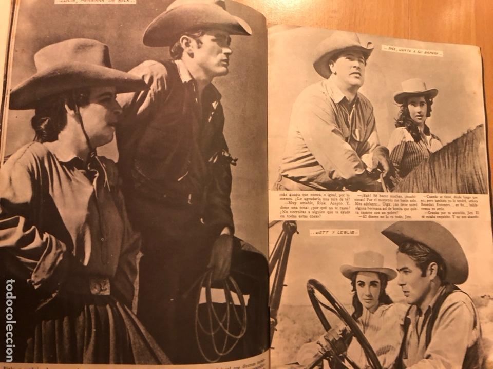 Cine: Colección grandes películas 18.gigante.elizabeth Taylor rock hudson james dean - Foto 4 - 277729378