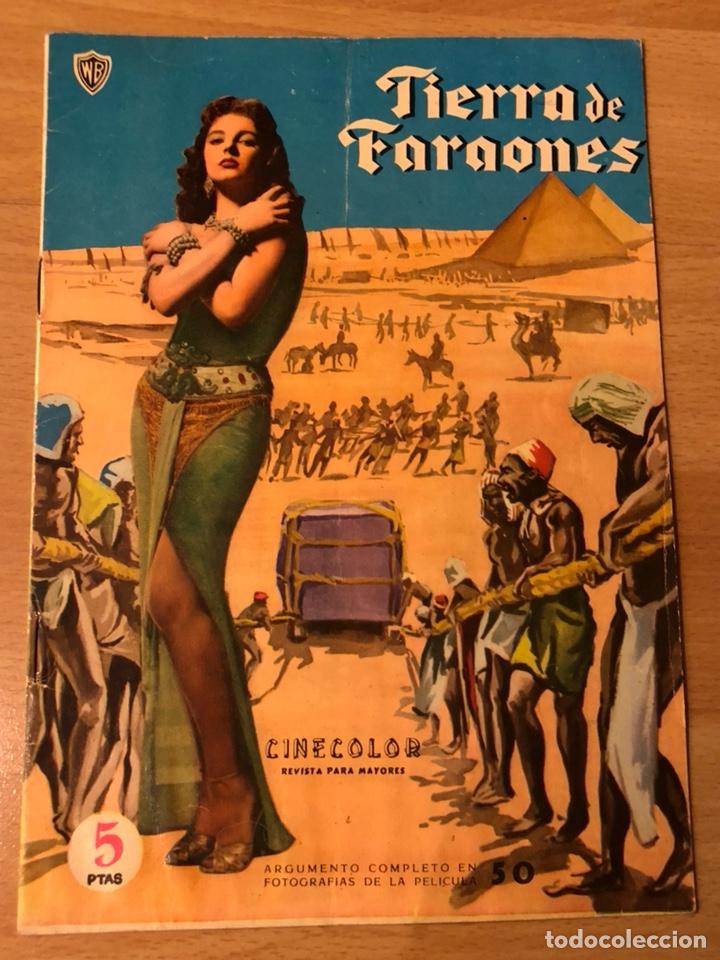 """Crítica de """"Tierra de faraones"""""""