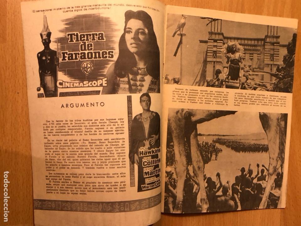 Cine: Revista cinecolor.tierra de faraones.joan collins.exclusivas ferma barcelona - Foto 2 - 128395387