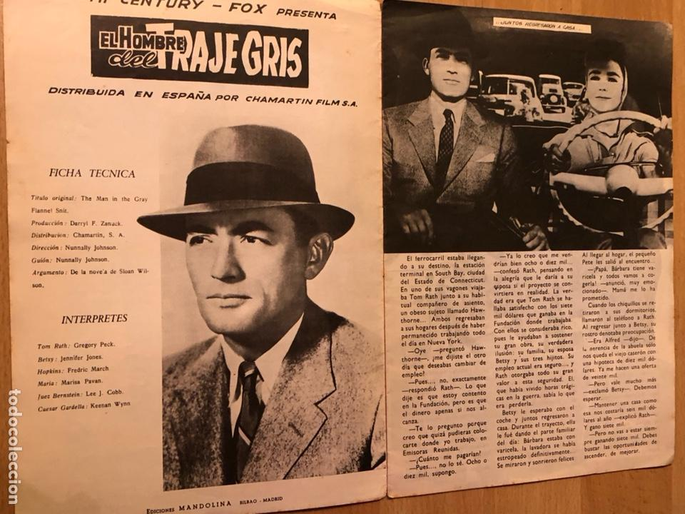 Cine: Colección de grandes películas el hombre del traje gris.gregory peck jennifer Jones - Foto 2 - 128396203