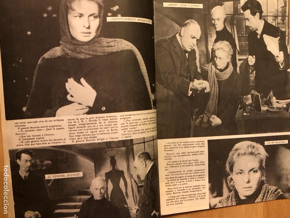 Cine: Colección de grandes películas.anastasia.ingrid Bergman yul brynner.contraportada Grace kelly - Foto 3 - 128396352