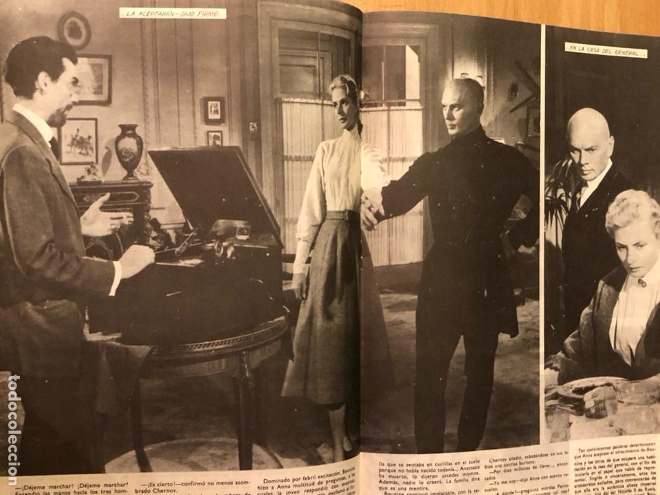 Cine: Colección de grandes películas.anastasia.ingrid Bergman yul brynner.contraportada Grace kelly - Foto 4 - 128396352