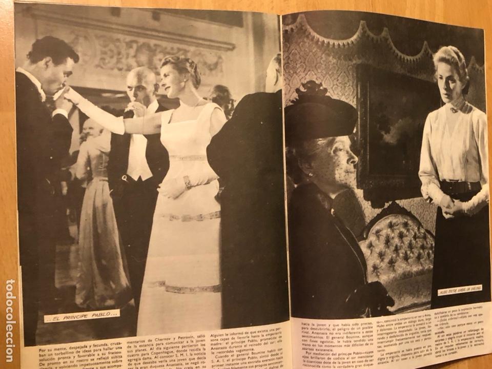 Cine: Colección de grandes películas.anastasia.ingrid Bergman yul brynner.contraportada Grace kelly - Foto 6 - 128396352