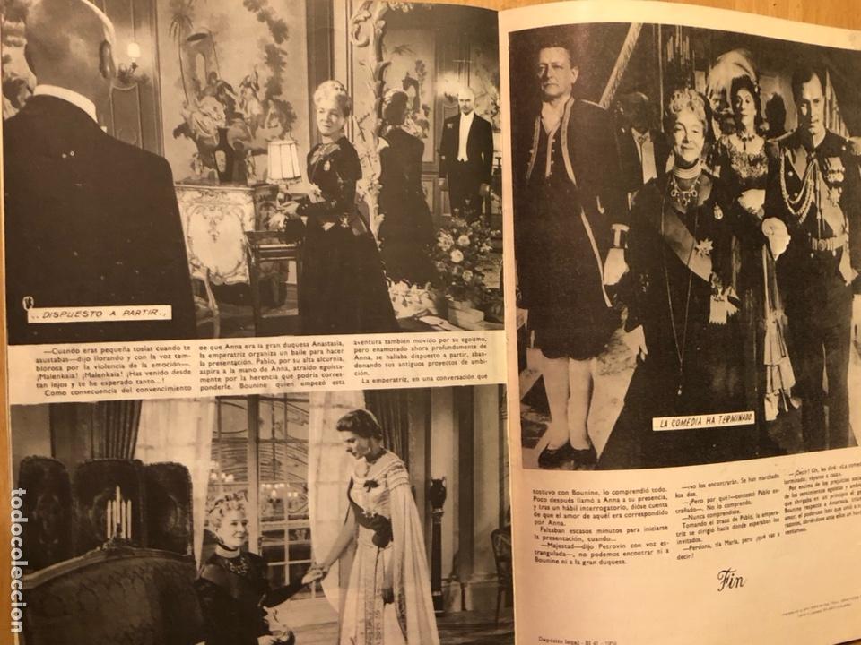 Cine: Colección de grandes películas.anastasia.ingrid Bergman yul brynner.contraportada Grace kelly - Foto 7 - 128396352