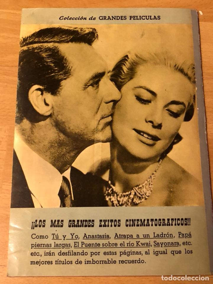 Cine: Colección de grandes películas.anastasia.ingrid Bergman yul brynner.contraportada Grace kelly - Foto 8 - 128396352