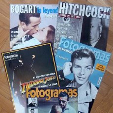 Cine: 5 SUPLEMENTOS ESPECIALES DE FOTOGRAMAS: BOGART / HITCHCOCK / SINATRA / INDIANA JONES / JAMES BOND. Lote 128480071