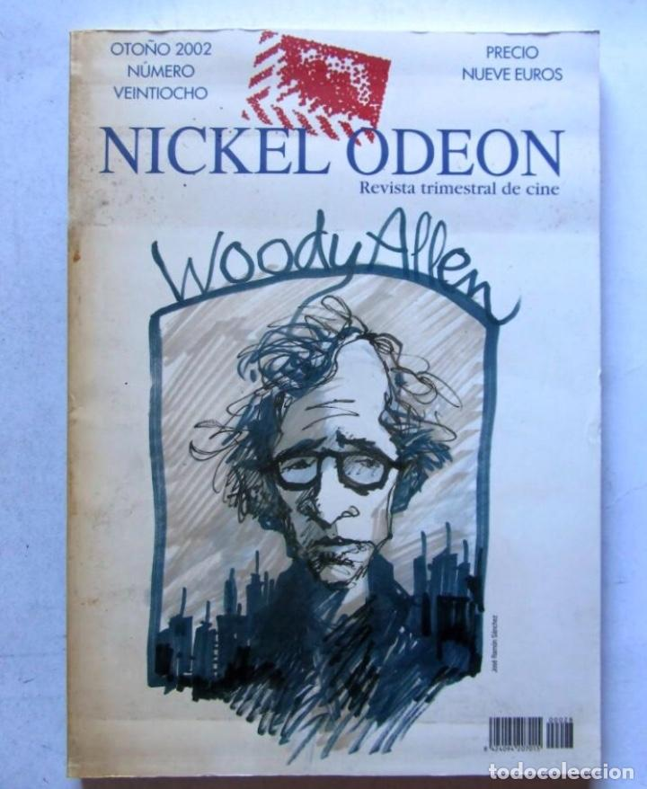 NICKEL ODEÓN. REVISTA TRIMESTRAL DE CINE. Nº 28 (2002) MONOGRÁFICO WOODY ALLEN 250 PÁGINAS. (Cine - Revistas - Nickel Odeon)
