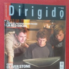 Cine: REVISTA DE CINE MAGAZINE DIRIGIDO POR Nº 404 OCT. 2010 LA RED SOCIAL OLIVER SOTNE RARE CULT MOVIES... Lote 128727311