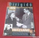Cine: REVISTA DE CINE MAGAZINE DIRIGIDO POR Nº 367 MAYO 2007 DOSSIER FRITZ LANG SPIDER-MAN 3 SAM RAIMI..... Lote 128727727