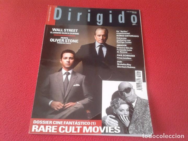 REVISTA DE CINE MAGAZINE DIRIGIDO POR Nº 403 SEPT. 2010 WALL STREET OLIVER STONE RARE CULT MOVIES.. (Cine - Revistas - Dirigido por)