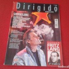 Cine: REVISTA DE CINE MAGAZINE DIRIGIDO POR Nº 368 JUNIO 2007 CANNES FRITZ LANG QUENTIN TARANTINO ....VER. Lote 128729367