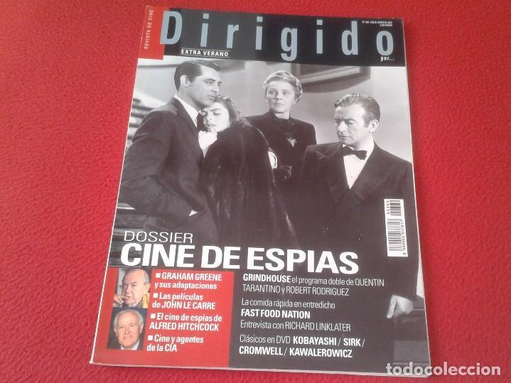REVISTA DE CINE MAGAZINE DIRIGIDO POR Nº 369 JUL AGO 2007 CINE DE ESPÍAS, TARANTINO...VER FOTO/S (Cine - Revistas - Dirigido por)