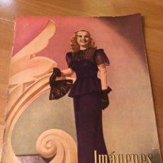 Cine: IMÁGENES REVISTA DE LA CINEMATOGRAFIA CON PUBLICIDAD PERFUMES.DIANA DURBIN ABRIL 1946. Lote 128765963