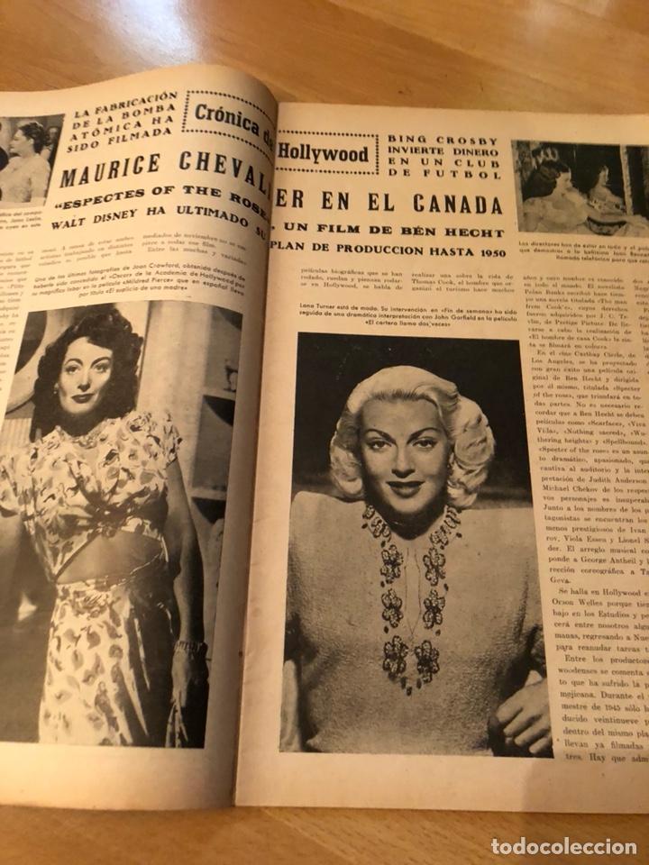 Cine: Imágenes revista de la cinematografia con publicidad perfumes.Maria montez noviembre 1946 - Foto 4 - 138140426
