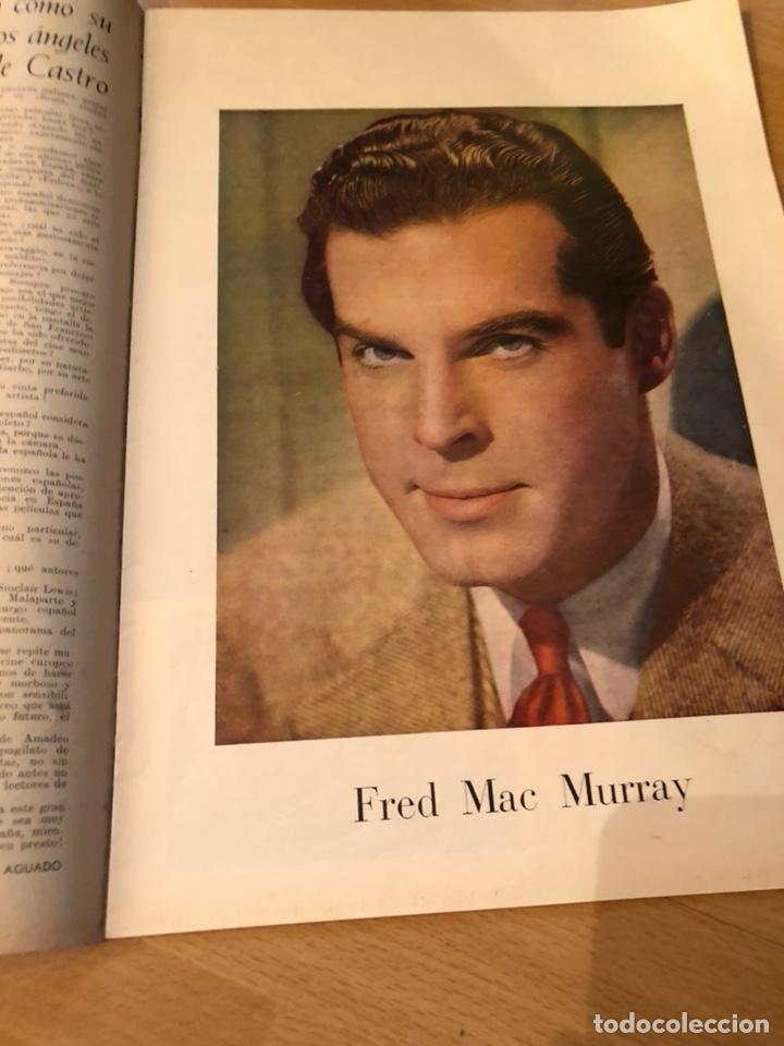 Cine: Imágenes revista de la cinematografia con publicidad perfumes.Maria montez noviembre 1946 - Foto 5 - 138140426