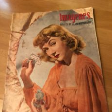 Cine: IMÁGENES REVISTA DE LA CINEMATOGRAFIA CON PUBLICIDAD PERFUMES.GLORIA GRAHAME.AGOSTO 1946. Lote 128766864
