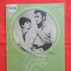 Cine: REVISTA VISOR DEL ESPECTACULO Y DE LA AFICION, ROSANNA SCHIAFFINO, 1963,20 PÁGINAS. Lote 128771351